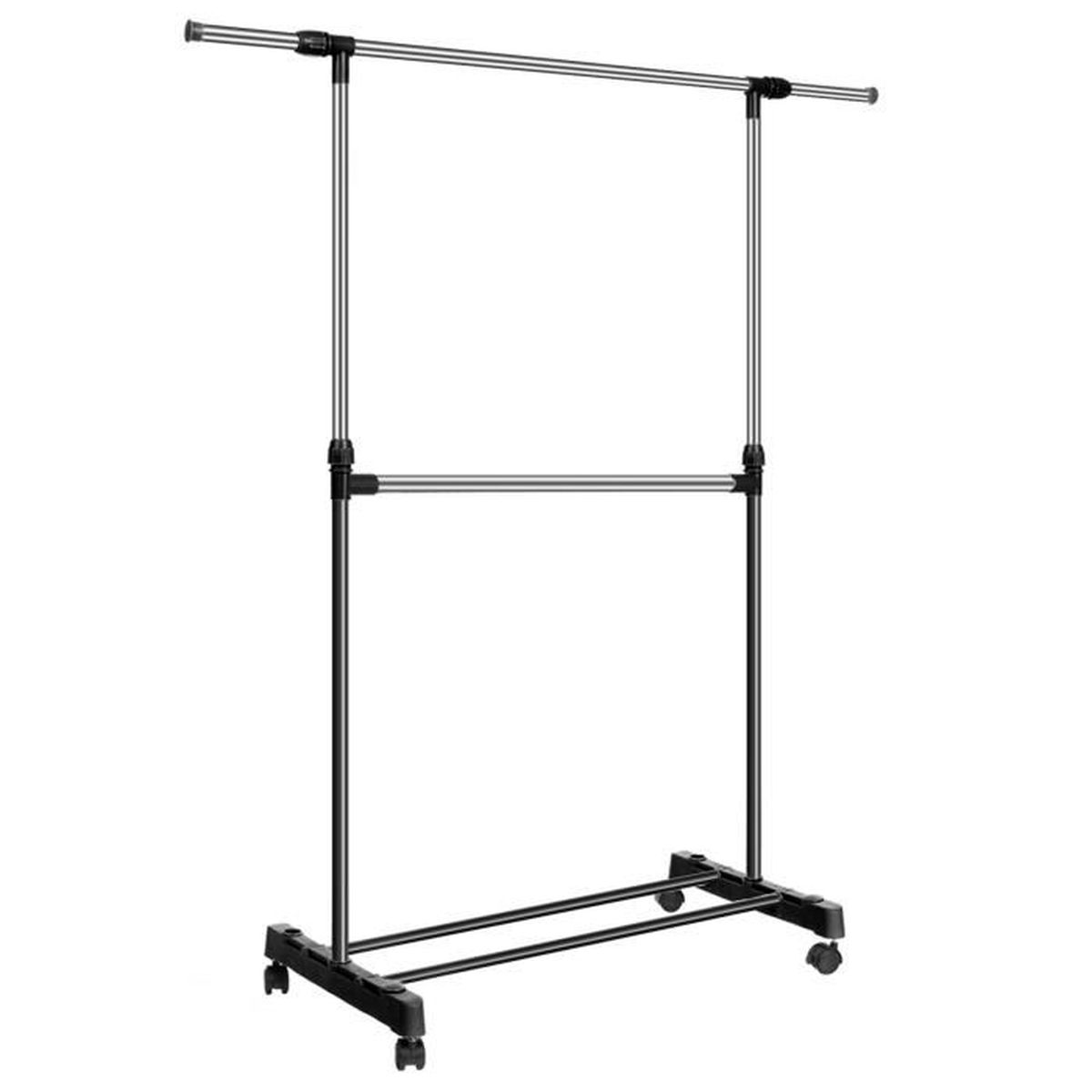 Cr maill res cintres extensible ajustable v tement s cher - Etagere a chaussure extensible ...