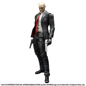 LOT ACCESSOIRE CONSOLE HITMAN ABSOLUTION PLAY ARTS KAÏ - AGENT 47