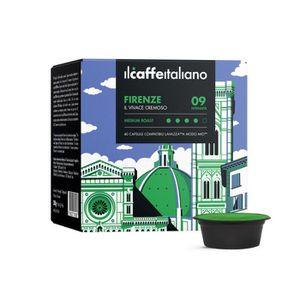 CAFÉ 100 Capsules  de Café Firenze compatibles avec mac