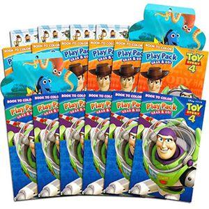 JEU DE COLORIAGE - DESSIN - POCHOIR Jeu De Coloriage YCV8X Pixar Toy Story 4 Party Fav