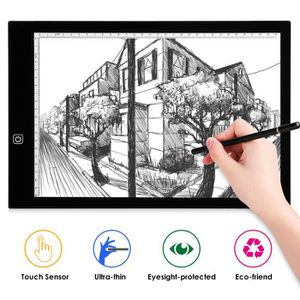TABLE A DESSIN Tablette Lumineuse - A3 LED Pad Pour Dessiner - Ta