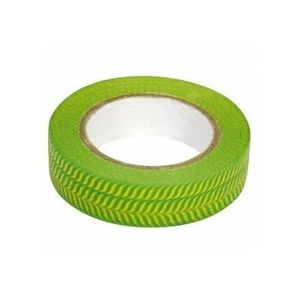 RUBAN MASQUAGE Masking tape en papier washi vert anis et jaune