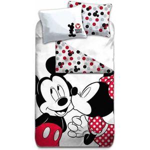 HOUSSE DE COUETTE ET TAIES Disney Minnie - Housse de Couette - 1-personne - 1