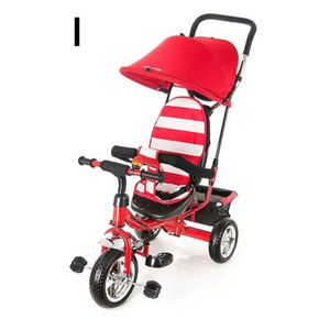 DRAISIENNE Kidz Motion Poussette Tricycle Enfant Tobi Junior