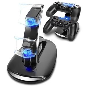 CHARGEUR CONSOLE Chargeur pour PS4 Manette Chargeur Support avec Do