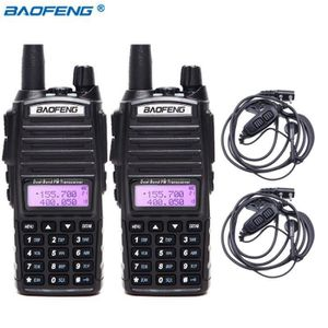 TALKIE-WALKIE 2 pièces BaoFeng UV-82 5 w Talkie Walkie Double Ba