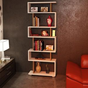 etagere bibliotheque murale achat vente etagere. Black Bedroom Furniture Sets. Home Design Ideas