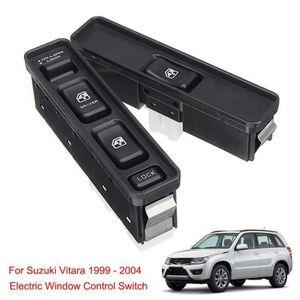 Qiilu Auto Bouton-poussoir Interrupteur principal de fen/être /électrique pour E90 E91 318i 320i 61319217332