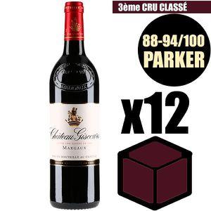 VIN ROUGE X12 Château Giscours 2014 75 cl AOC Margaux Rouge
