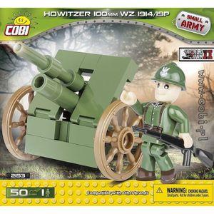 ASSEMBLAGE CONSTRUCTION Canon Howitzer 100 mm Wz.1914/19 P Cobi