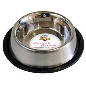 GAMELLE - ÉCUELLE Croci Steel Cat Bowl, 16 cm, 0,24 litres ZBPHD