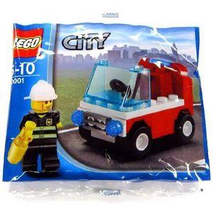 ASSEMBLAGE CONSTRUCTION LEGO City: Pompier Voiture Jeu De Construction 300