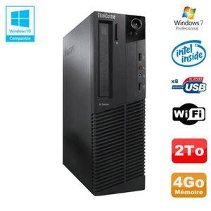 UNITÉ CENTRALE  PC Lenovo M91p 7005 SFF Intel G630 2,7Ghz 4Go Disq