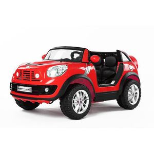 voiture lectrique pour enfant mini cooper countryman rouge achat vente voiture enfant. Black Bedroom Furniture Sets. Home Design Ideas