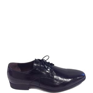 MOCASSIN Nero Giardini Lace Shoes Homme Black