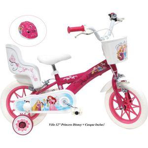 VÉLO ENFANT Vélo 12'' PRINCESS/DISNEY (2 à 4 ans) équipé de 2