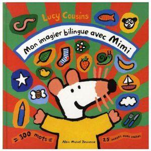 LIVRE D'ÉVEIL Livre - Mon imagier bilingue avec Mimi