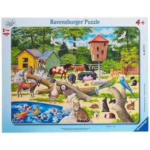 PUZZLE Ravensburger - 67770 - Puzzle - 30x48 Pièces cadre