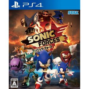 JEU PS4 Sega Sonic Forces SONY PS4 PLAYSTATION 4 Import Ja