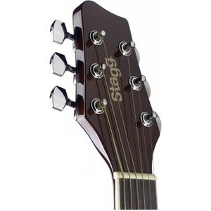 GUITARE STAGG Guitare Folk SA20ACE NAT Electro Naturel