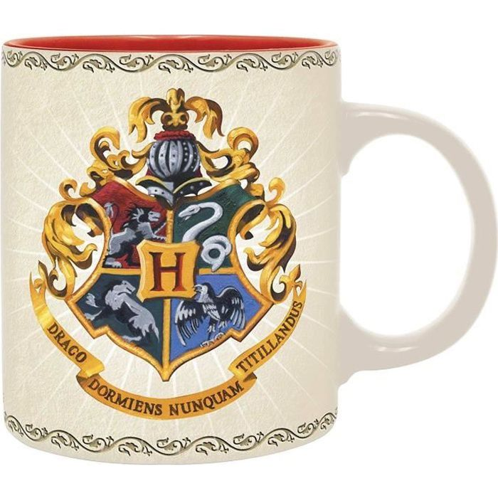 Mug Harry Potter - 320 ml - Poudlard 4 maisons - boîte - ABYstyle