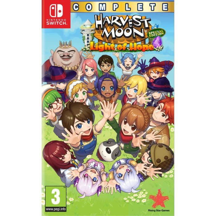 Harvest Moon Light of Hope Complete Special Edition Jeu Switch