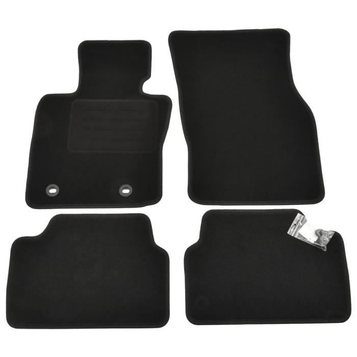 Ensemble de tapis d'auto 4 pcs BMW Mini 3 F55 à 5 portes
