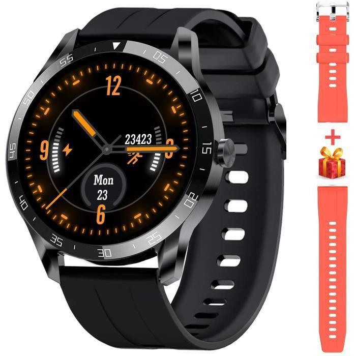 Blackview Montre Connectée Homme, Bracelet Connecté Femme Ecran Tactile Smartwatch Cardio Sport Fitness Tracker d'Activité Calorie P