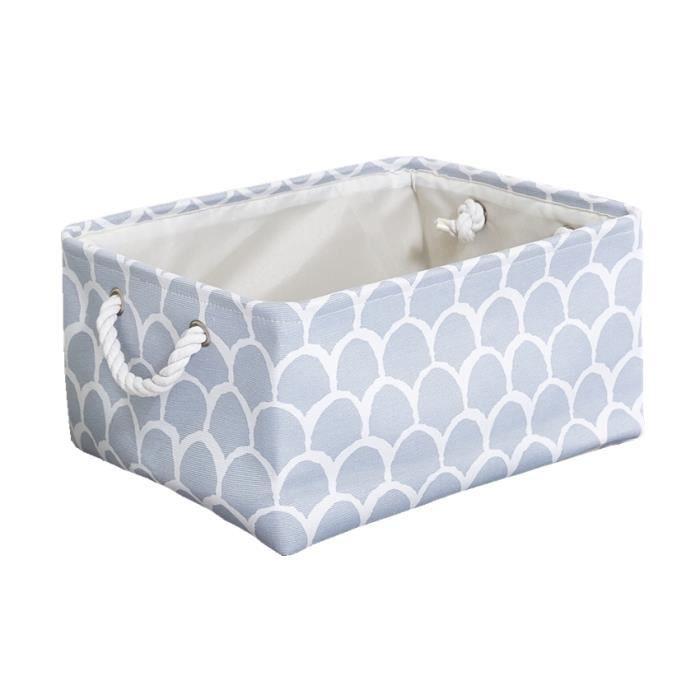 Portable rectangulaire tissu placard paniers de rangement enfant jouets organisateur armoire étagère pour vêtements - Type 7 - S
