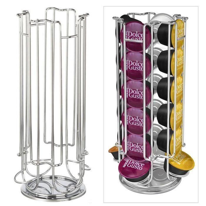 capsules rotatif pouvant contenir 24 capsules Dolc