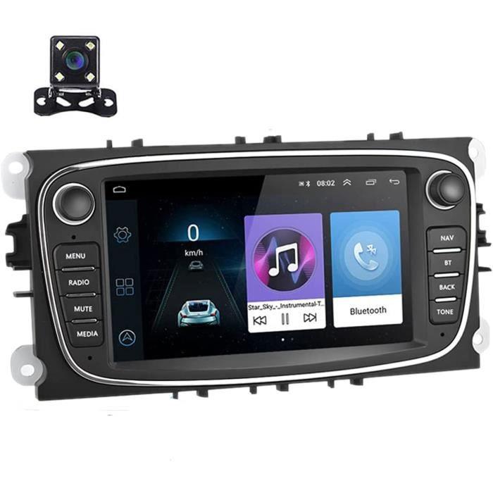 Autoradio Android 9.0 Lecteur auto stéréo 7 pouces Unité principale Navigation GPS WIFI Récepteur FM Bluetooth Double USB pour 300