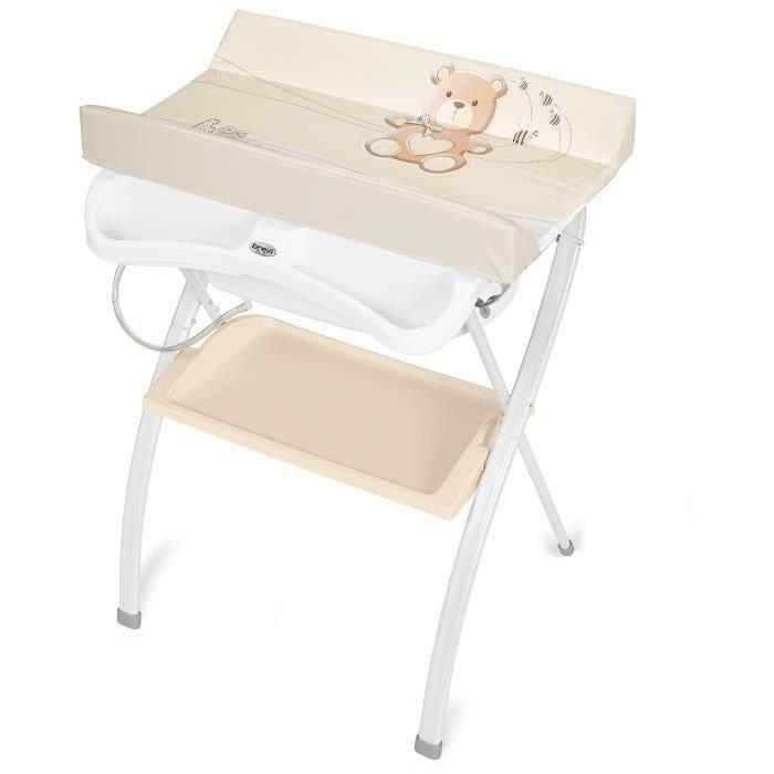 BREVI Table à langer Lindo Little bear