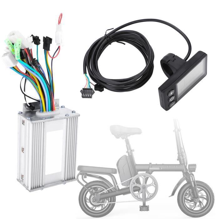 Panneau d'affichage LCD étanche Kit de contrôleur sans brosse de scooter électrique pour vélo électrique (450W60V)-TIP