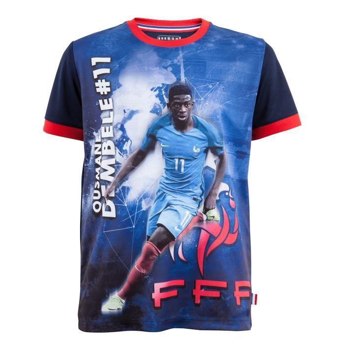Maillot FFF - Ousmane DEMBELE - Collection officielle Equipe de France de Football