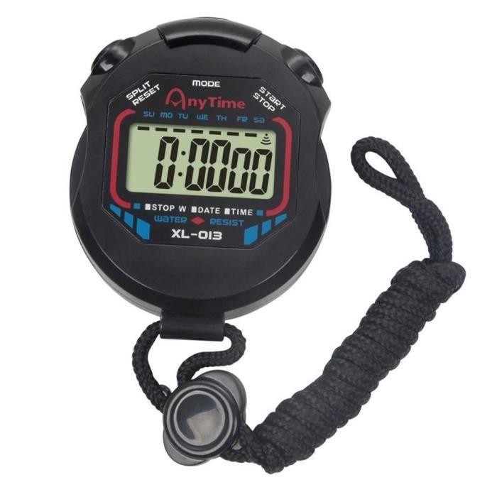 #EXE Chronomètre électronique multifonctionnel chronomètre en cours d'exécution chronomètre chronomètre de sport
