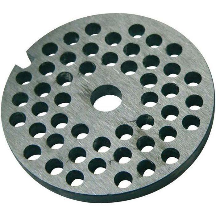 REBER Grille pour Hachoir manuel - N°10 et N°12 - Diamètre 10 mm