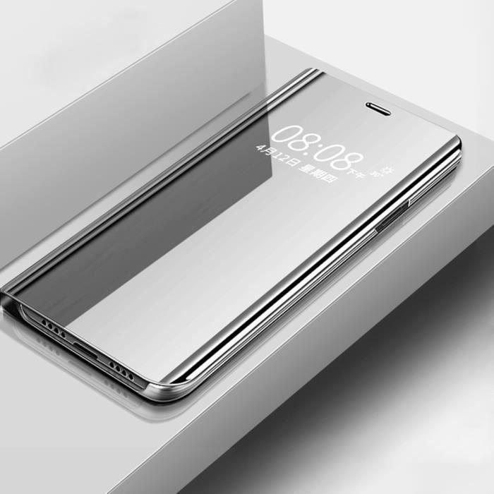 Étui folio Huawei P Smart Z, Housse Clear View Mir