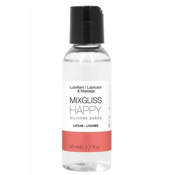 MIXGLISS SILICONE HAPPY - LITCHI 50 ML