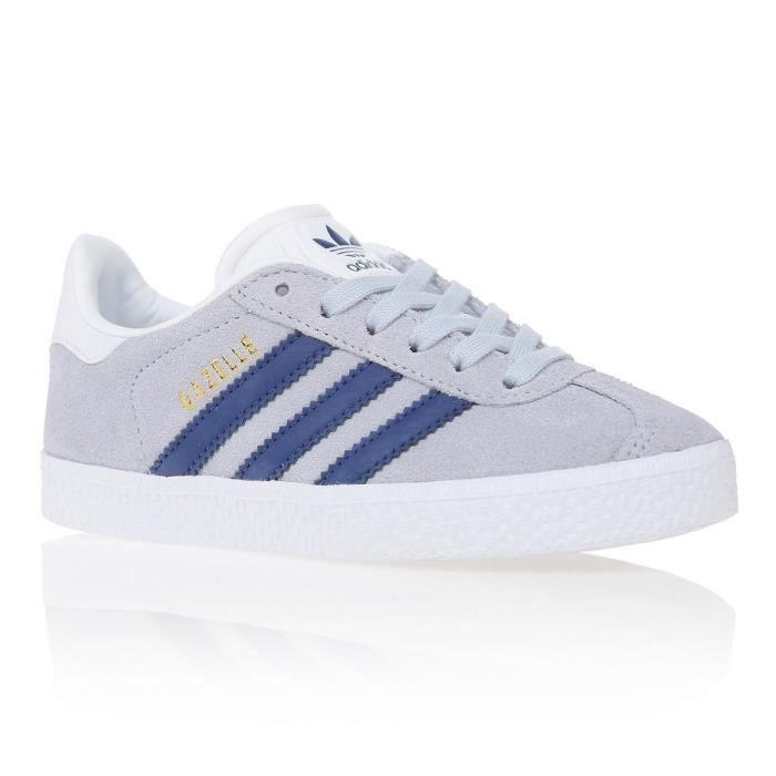 a32c032932747 ADIDAS ORIGINALS Baskets Gazelle - Enfant - Gris - Achat   Vente ...
