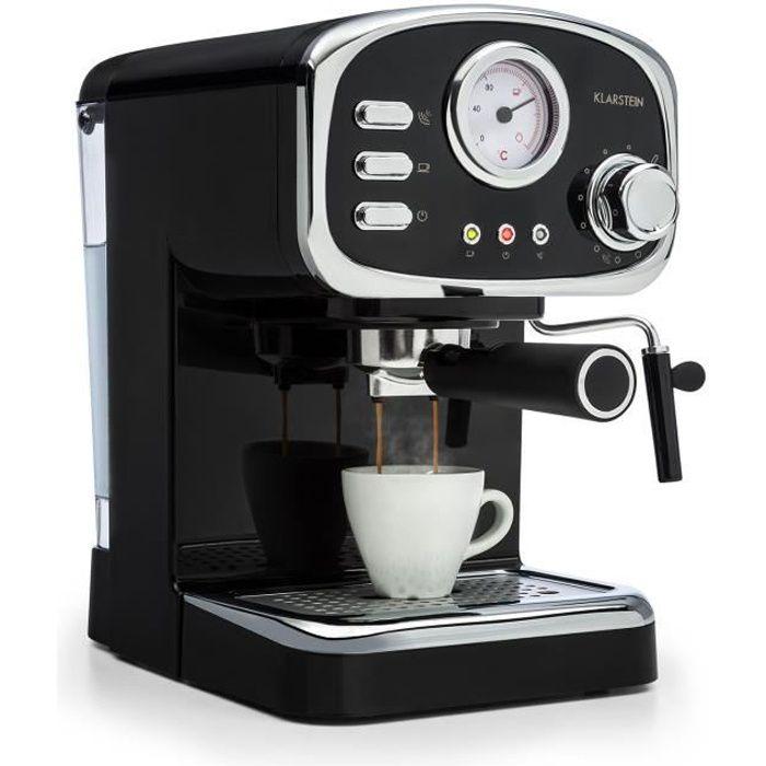 COMBINÉ EXPRESSO CAFETIÈRE Klarstein Espressionata Gusto Combiné Cafetière ex