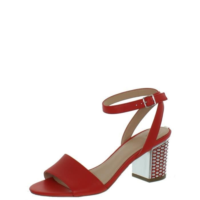 Les femmes Genny bout ouvert synthétique orange Slingback Sandal HN7BN Taille-40 1F97acljE