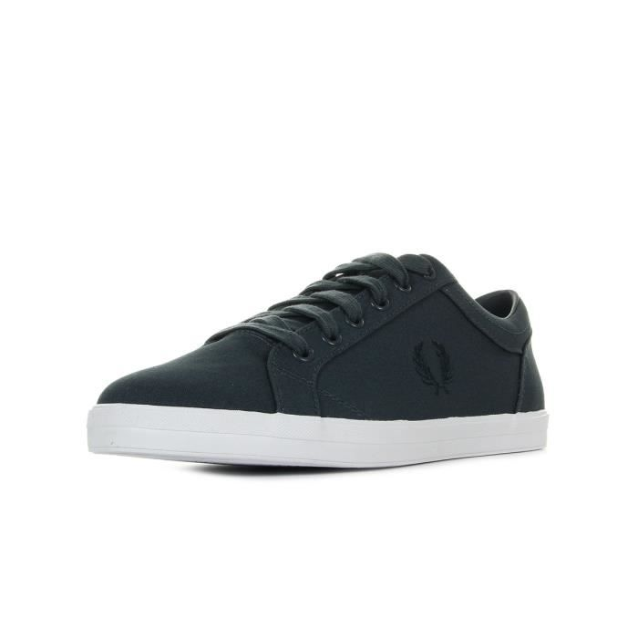 Baskets Fred Perry Baseline Canvas Graphite