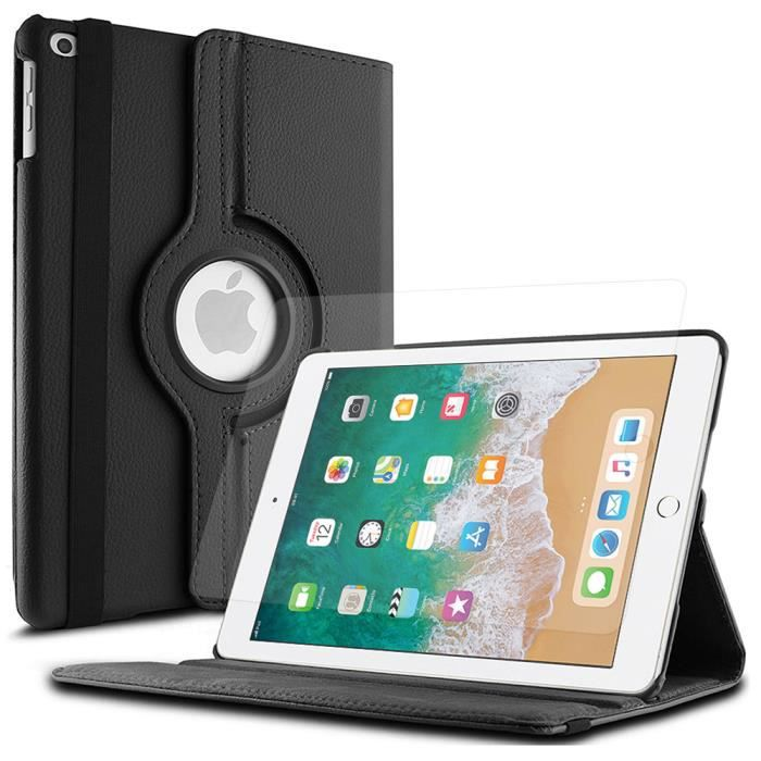 HOUSSE TABLETTE TACTILE Pour Apple iPad 9.7 (2018) - Etui Rotatif Rotative