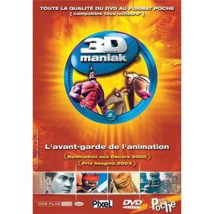 DVD DESSIN ANIMÉ DVD 3d maniak, vol. 2