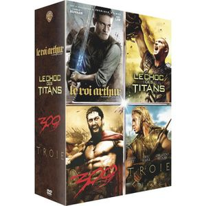 DVD SÉRIE Coffret DVD Guerriers de Légende, 4 films