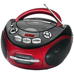 RADIO CD CASSETTE AEG SR 4353 RD Radio CD MP3 Cassette - Aux-In - LC