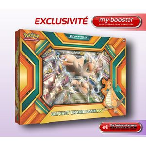 CARTE A COLLECTIONNER Pokémon - Coffret Exclusif - Dracolosse Ex (en Fra