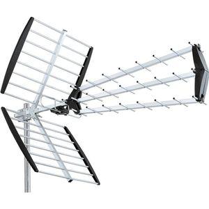 ANTENNE RATEAU ANTENNE UHF TRINAPPE TNT HD DVB-T TV EXTERIEURE