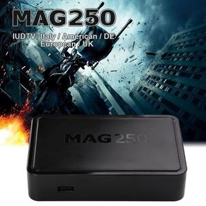 BOX MULTIMEDIA KIN FORNORM MAG 250 IPTV Set Top Box Support Chaîn