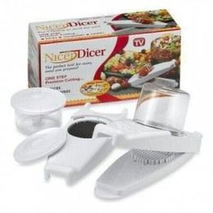 Nicer dicer coupe fruits et l gumes achat vente mandoline de cuisine nicer dicer coupe - Nicer dicer coupe legumes ...